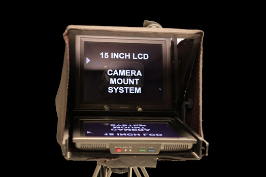 Camera Mounted Teleprompters